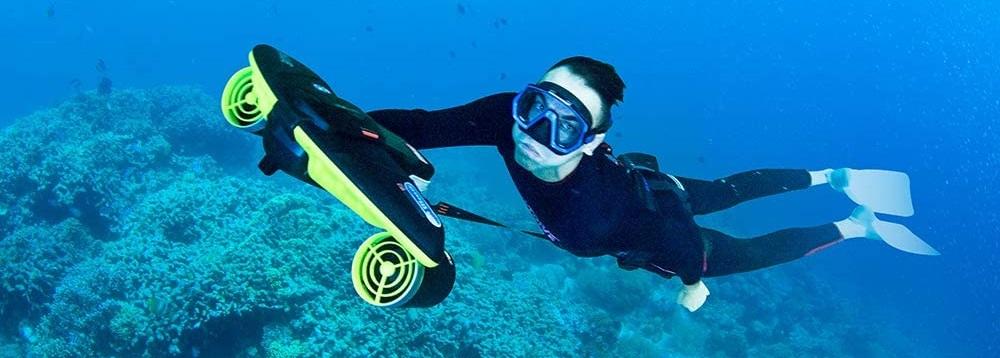 WINDEK SUBLUE Seabow Smart Underwater Scooter Review